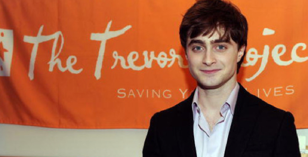 Daniel Radcliffe Visits The Trevor Project's NYC Call Center