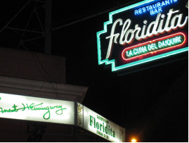 Floridita, the 'cradle of the daiquiri'
