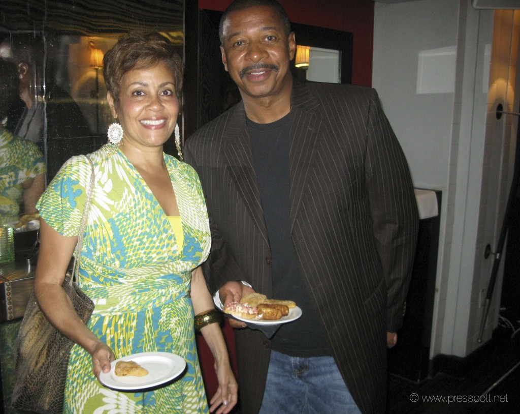 Dolly Turner and Robert Townsend