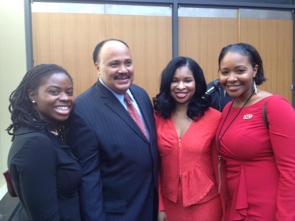 Martin Luther King, III, Arndrea Waters King, Kimberly Hayes