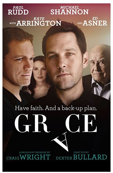 GRACE on Broadway starring Paul Rudd and Michael Shannon