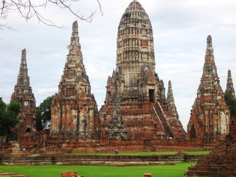 Ayutthaya outside of Bangkok, Thailand