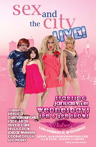 discount code for Sex and the City: Live! tickets in San Francisco - CA (1772 Market Street)