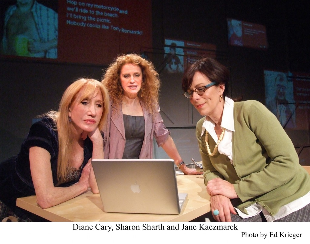 """The Snake Can"" stars Diane Cary, Sharon Sharth and Jane Kaczmarek"