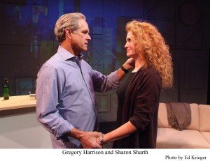 "Gregory Harrison and Sharon Sharth in ""The Snake Can"""