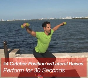 Jose Fernandez 3-Minute Workout Shoulders