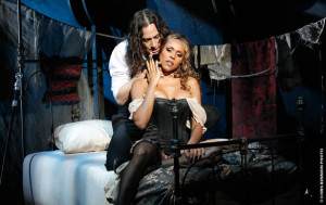 "Constantine Maroulis and Deborah Cox in ""Jekyll & Hyde"""