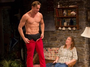 Billy Magnussen and Kristine Nielsen