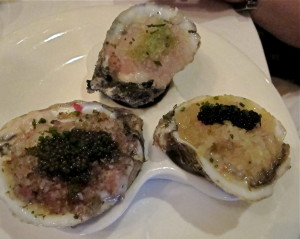 Oysters at Stella