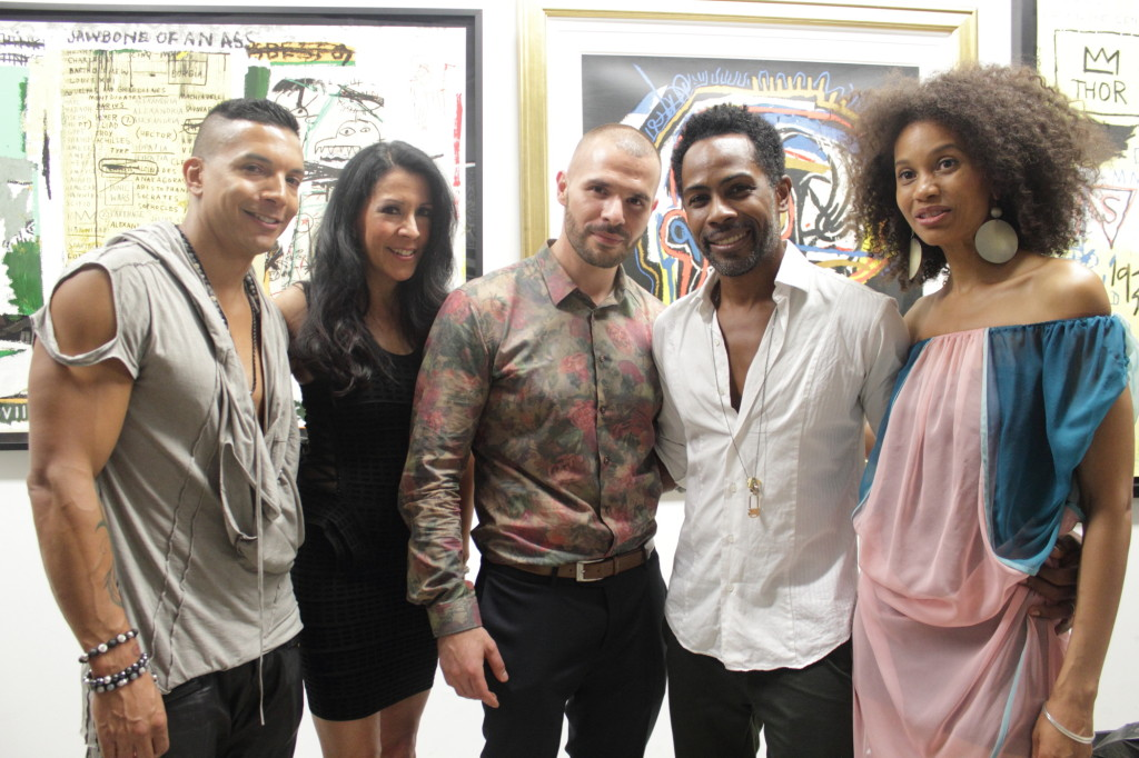 PopLife Crew: Editors Steve V. & Vivian Meade, Soho Contemporary Art Mike Barber, Carlton Jones, Kahshanna Evans