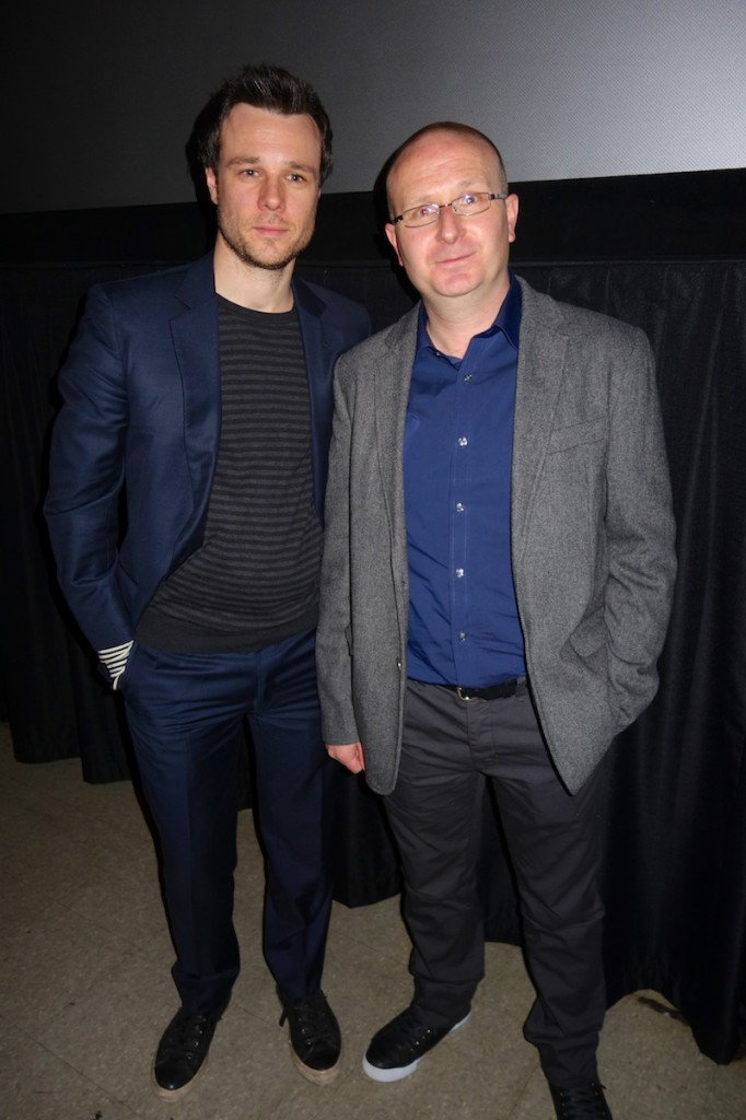 Actor Rupert Evans and Dir/Writer Ivan Kavanagh