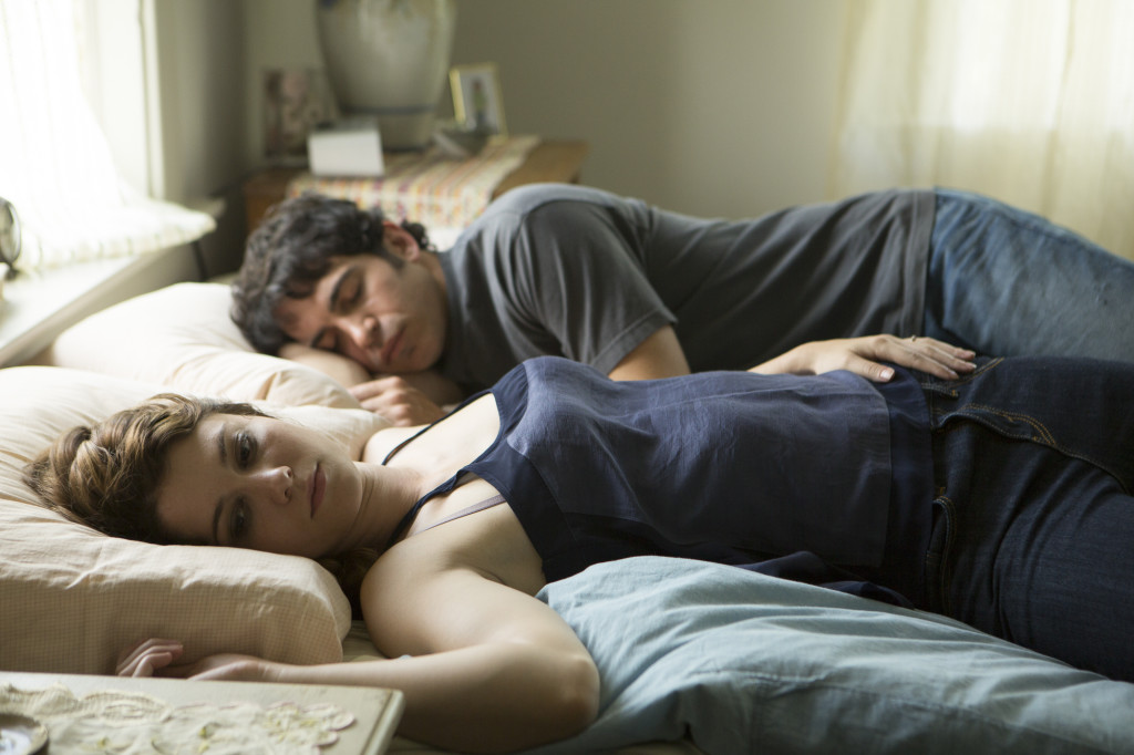 "Mary Elizabeth Winstead as Alex and Director/actor, Chris Messina as George in ""Alex of Venice"" Photo: Melissa Moseley"