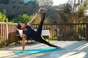 Francisco Ramos, LA Yoga Instructor Practices in the Hollywood Hills