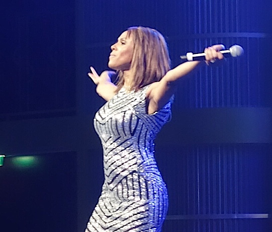 "Deborah Cox performs new single, ""Kinda Miss You"" on  Atlantis Cruise"