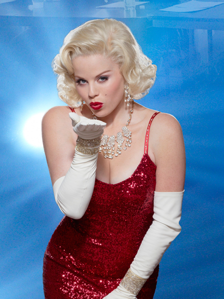 "Megan Hilty as Marilyn Monroe in ""Smash"""