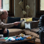 "Ed Harris and James Franco in ""The Adderall Diaries"""