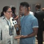 Fern Mallis chats with Carlton Jones at New York Fashion Week: Men's at Skylight Clarkson Square