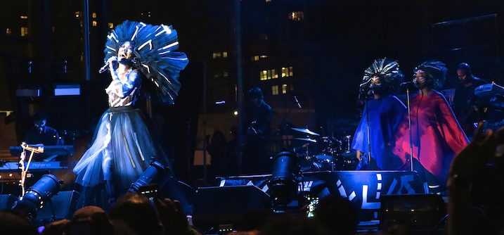 Grace Jones headlines Afropunk