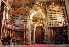 Joanina Library, Coimbra (stock photo)