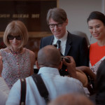 Anna Wintour, Andrew Bolton, and Wendi Murdoch in THE FIRST MONDAY IN MAY, a Magnolia Pictures release. Photo courtesy of Magnolia Pictures.