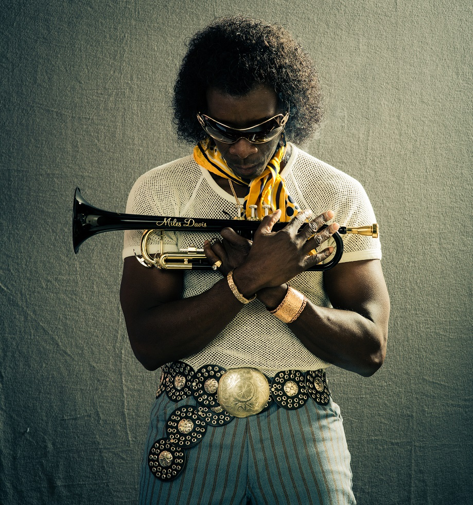 "Don Cheadle as Miles Davis in ""Miles Ahead"""