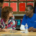 Susan Sarandon as Marnie with Jerrod Carmichael as Freddy in THE MEDDLER