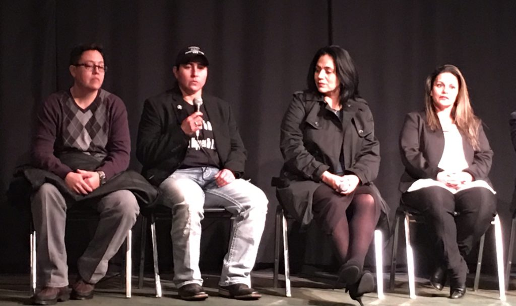 The San Antonio Four speak at the Tribeca Screening Room