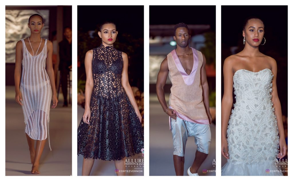Designers: Aisling Camps, LaQuan Smith, Carlton Jones and Yumi Katsura
